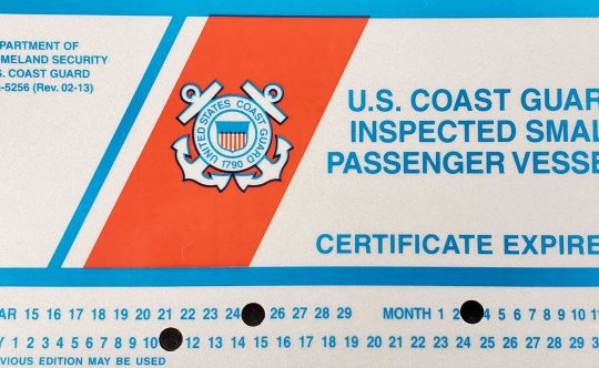 USCG Inspected Yachts: How to Steer Clear of Illegal Charters